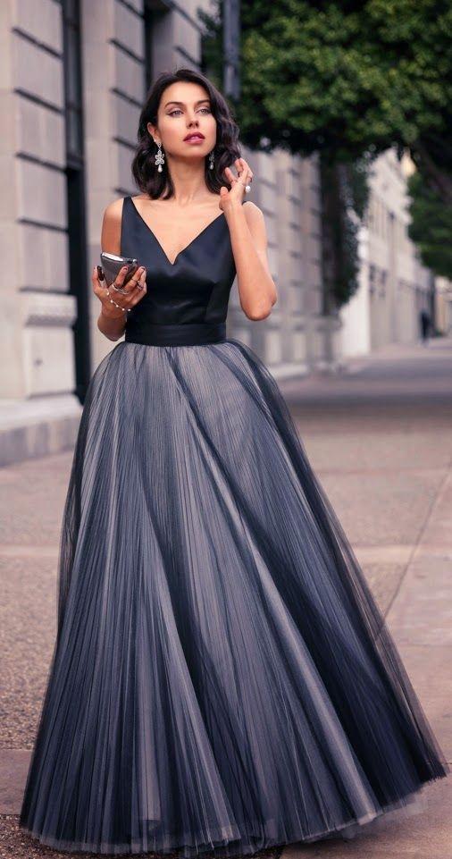 Vestido para casamento a noite