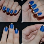 inglesinha dourada e azul