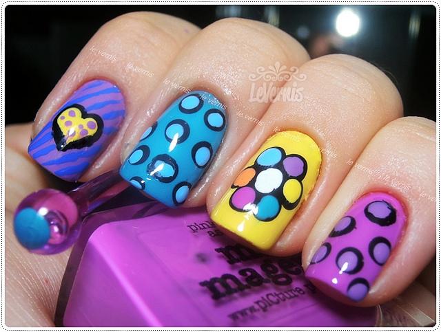 Decoração criativa para as unhas