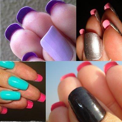 Flip-side: Nova tendência de unhas decoradas 2015 (Foto: Divulgação)