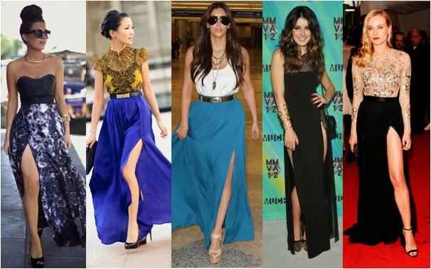 Saia longa – moda 2015 dicas como usar (Foto: Divulgação)
