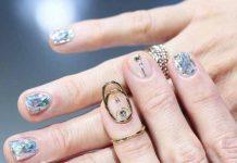 jóias nas unhas