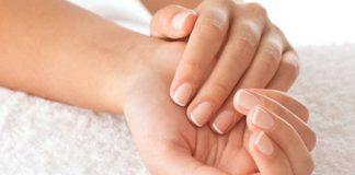 mãos claras e suaves
