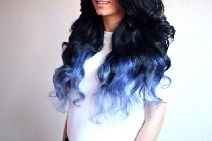 Dip-dye hair8