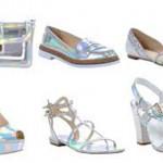 calçados holograficos