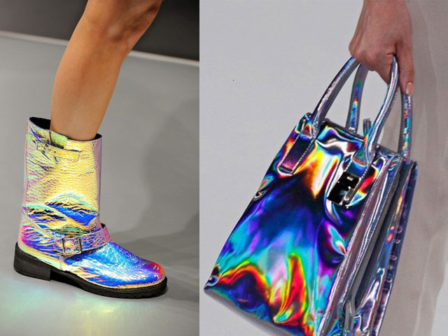 Efeito Holográfico nos Calçados e Unhas