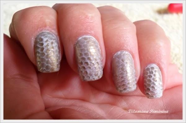 Nail art escama de cobra: passo a passo