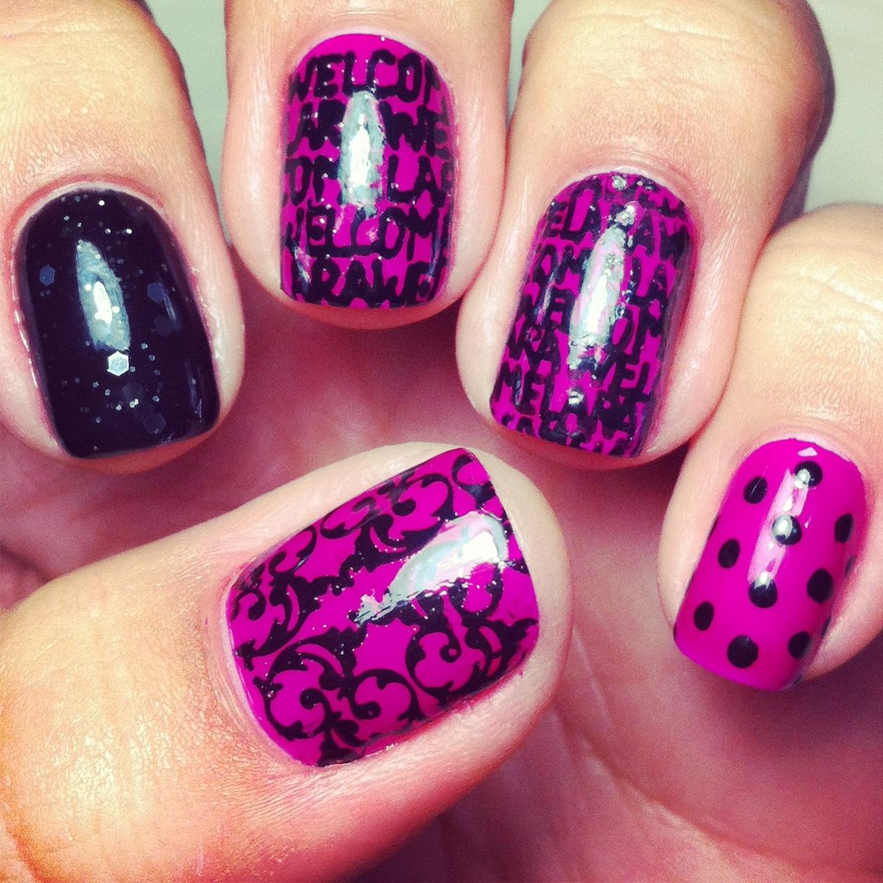 Carimbos e esmaltes: Faça Nail art em casa!