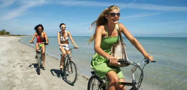 Benefícios de andar de bicicleta