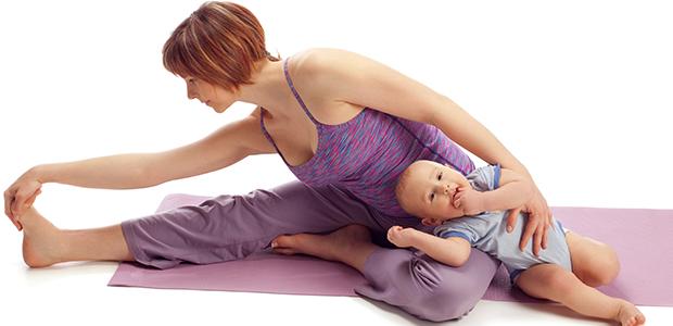 Como manter a forma após a gravidez