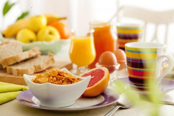 Café da manhã emagrece