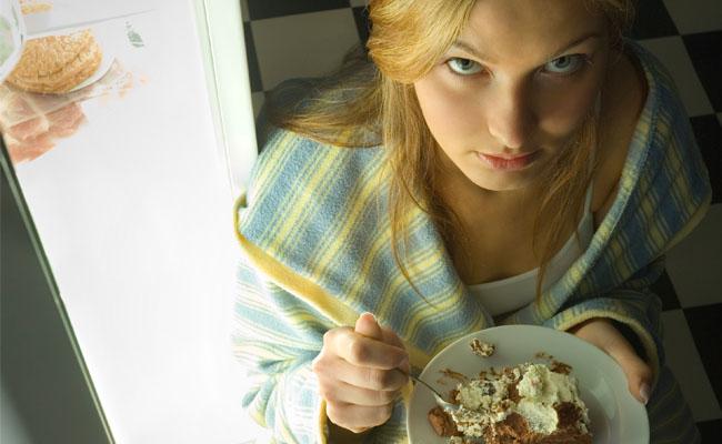 Comer para aliviar problemas emocionais