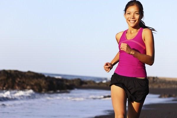 Dieta e exercícios: correr na areia