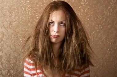 diminuir o volume do cabelo com a chapinha