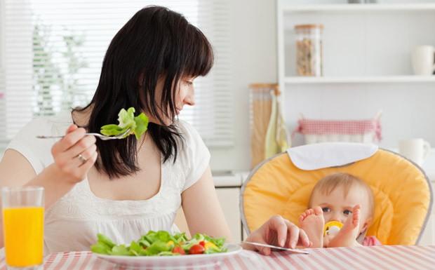 Dieta pós parto: cardápio completo