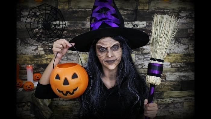 Maquiagem de Bruxa para halloween