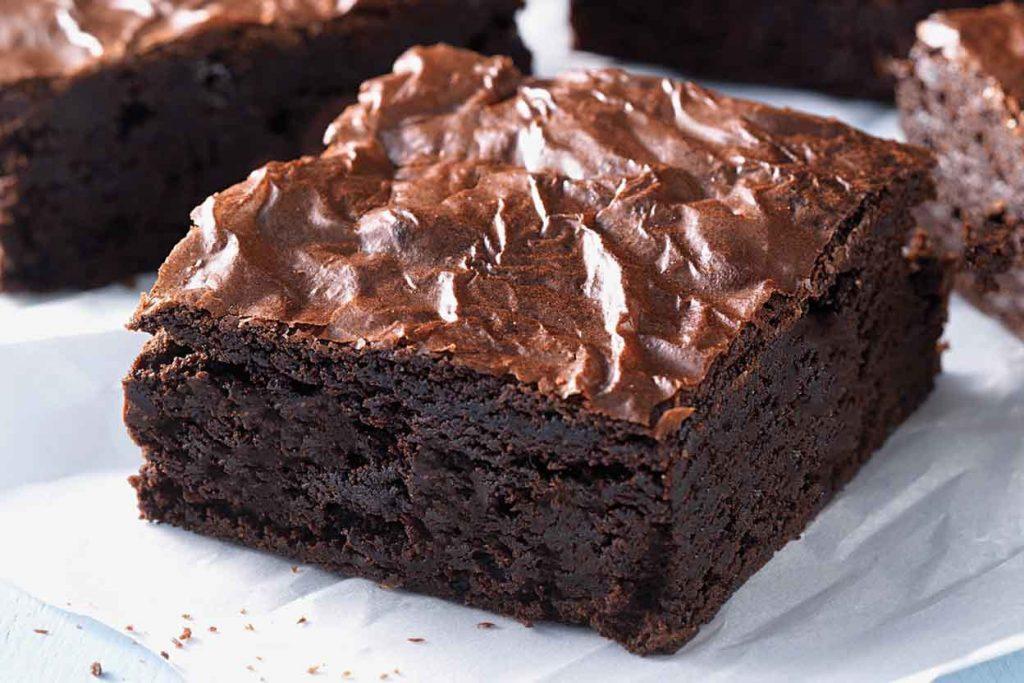 brownie low carb com farinha de amêndoa