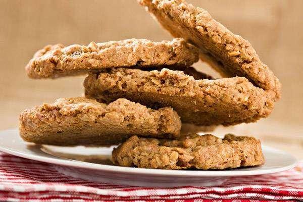 Cookies caseiros de banana