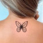 Tatuagem com borboleta