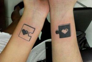 tatuagem que se completam