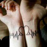 tatuagens casal apaixonado