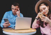 Efeitos das redes socias em um namoro