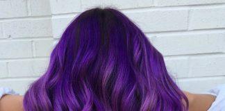 cabelos roxos capa