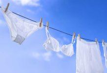 cuidados com as roupas íntimas