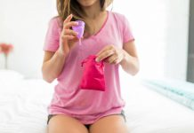 Copo coletor menstrual