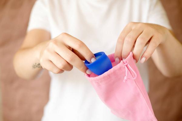 Copo menstrual do tamanho certo
