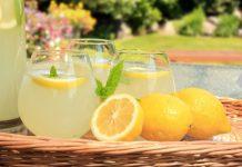 Receitas deliciosas de limonada