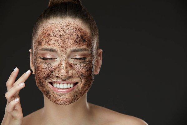 Limpeza de pele caseira com café