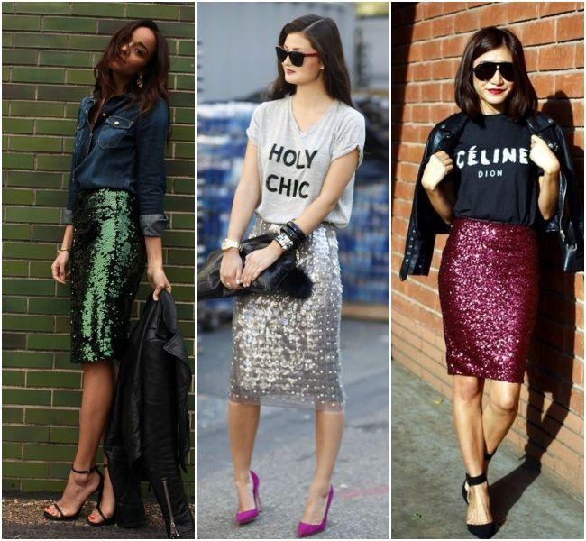 roupas com brilho durante o dia